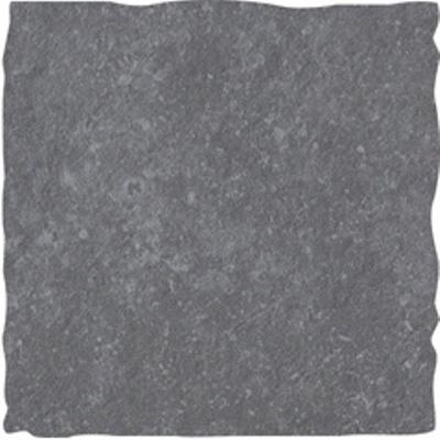 Keramische tegel Charcoal Grey getrommeld