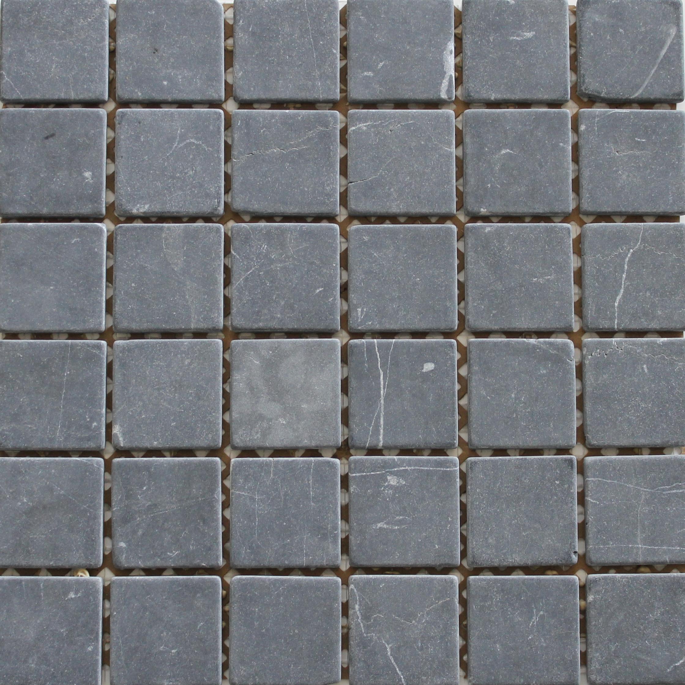 Mozaïek tegel Marmer Zwart 4,8×4,8