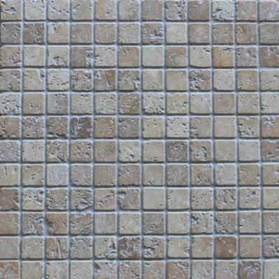 Mozaïek tegel Travertin Noce 2,3×2,3