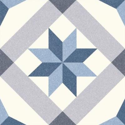 Vintage tegel Menton Blue