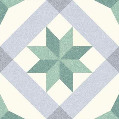 Vintage tegel Menton Green