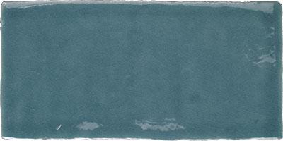 Vintage wandtegel Craquelé Turquoise