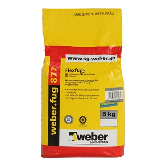 Voeg wand Cementgrijs 5 kg