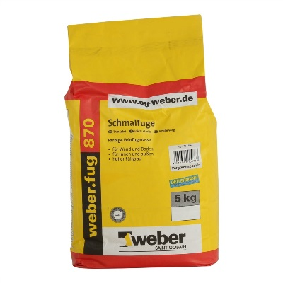 Voeg wand Edelwit 5 kg