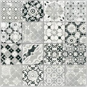 Mozaïek tegel Spring Grigio 5×5